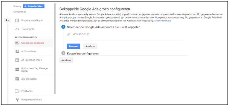 Google Analytics & Google Ads Koppelen